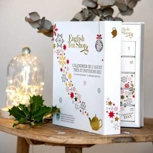 ENGLISH TEA SHOP – Calendrier de l'avent Premium de thés et infusions biologiques