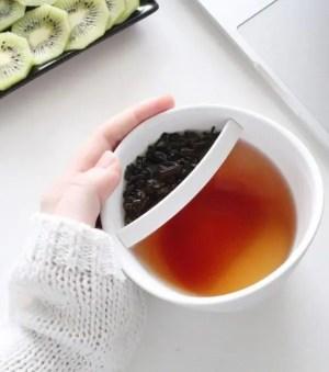 L AVANT GARDISTE – Mug avec infuseur à thé