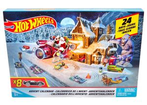 HOT WHEELS – Calendrier de l'avent,