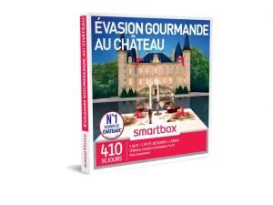 SMARTBOX – Coffret Evasion gourmande au château