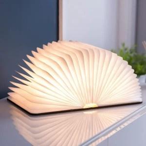 MAESTRO – Livre Lumineux Effet Bois Grand Format