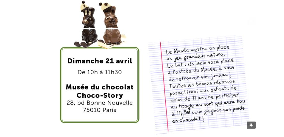paques 2019 chasse aux oeufs chocostory