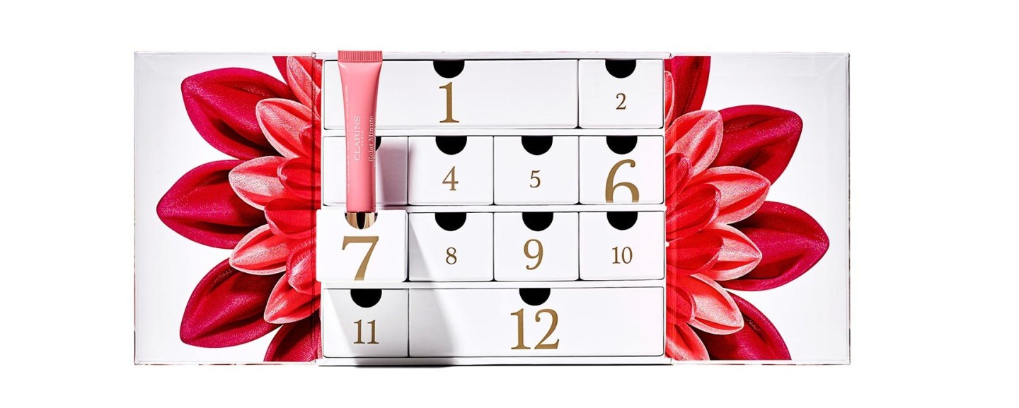 Calendrier avent CLARINS 2019 12 jours long