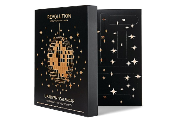 MAKEUP REVOLUTION Lip Advent calendar 2019 long