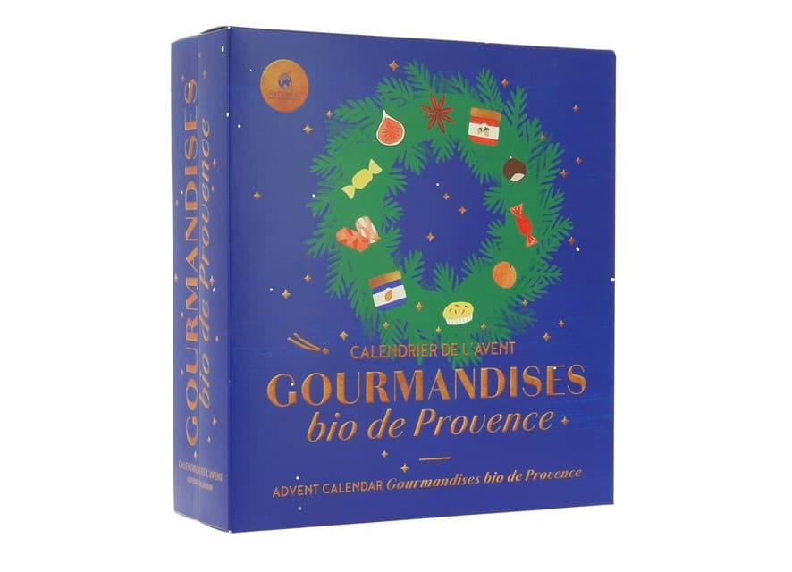 NATURE ET DECOUVERTES - Calendrier de gourmandises bio de provence 2019 long