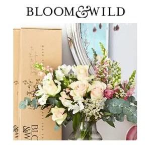 -15€ sur votre 1ere commande Bloom & Wild cliquez ici