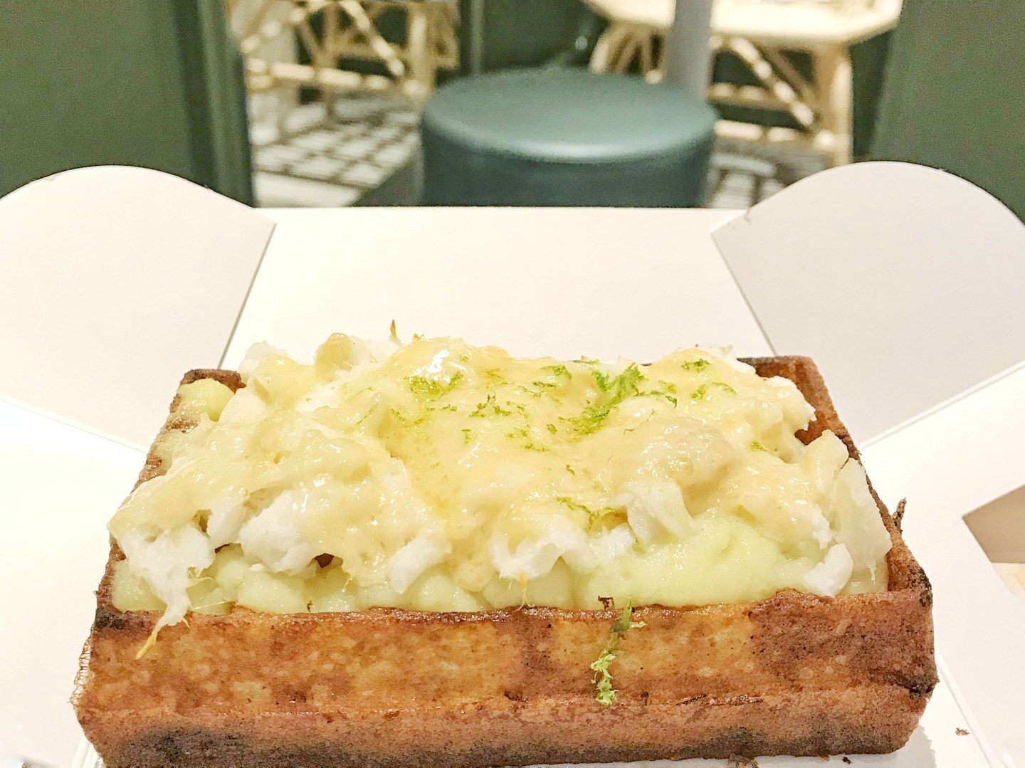 yummy and guiltfree gaufre salee la fish