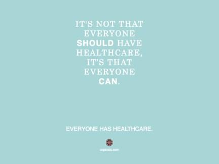 Healthcare should.001