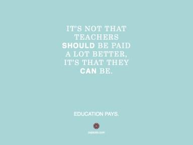 Teachers should.001