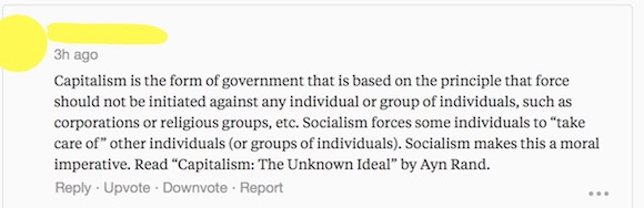 I know what socialism is blog