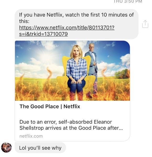 The Good Place blog