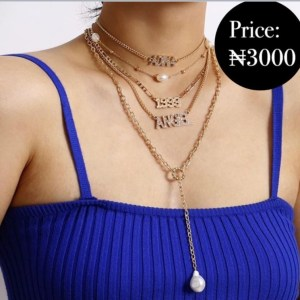 Angel Layered Necklaces