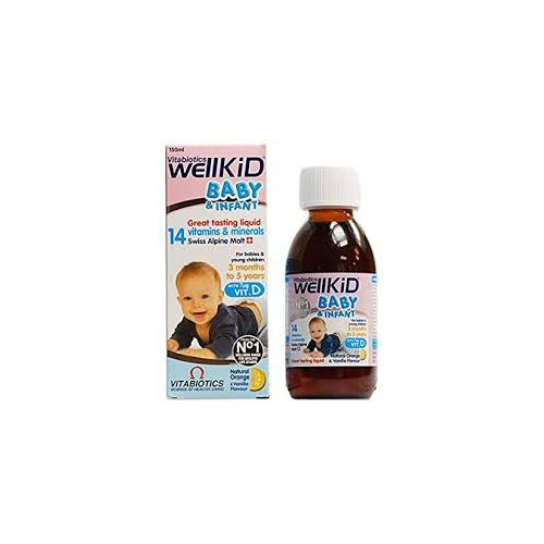 Wellkid Baby And Infant Syrup