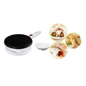 Sokany Electric Pancake Crepe Maker- White/black