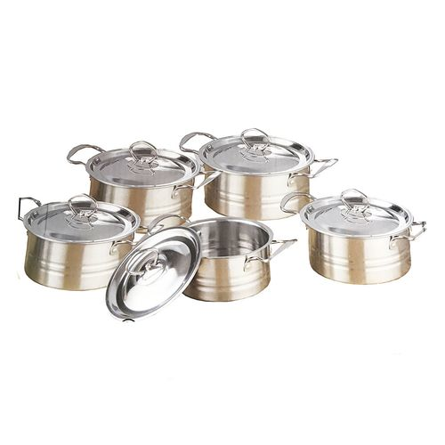 Stainless Steel Dish- Set 5