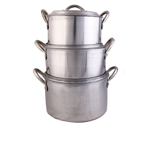 Tower Economy Cooking Pot Set 3- Silver