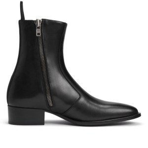 Luca Boot- Noir Leather
