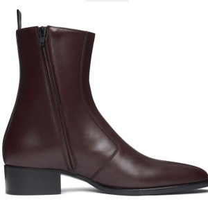 Dark Brown Luca Leather Boot