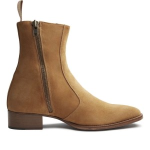 Beige/light Brown Suede Luca Boot
