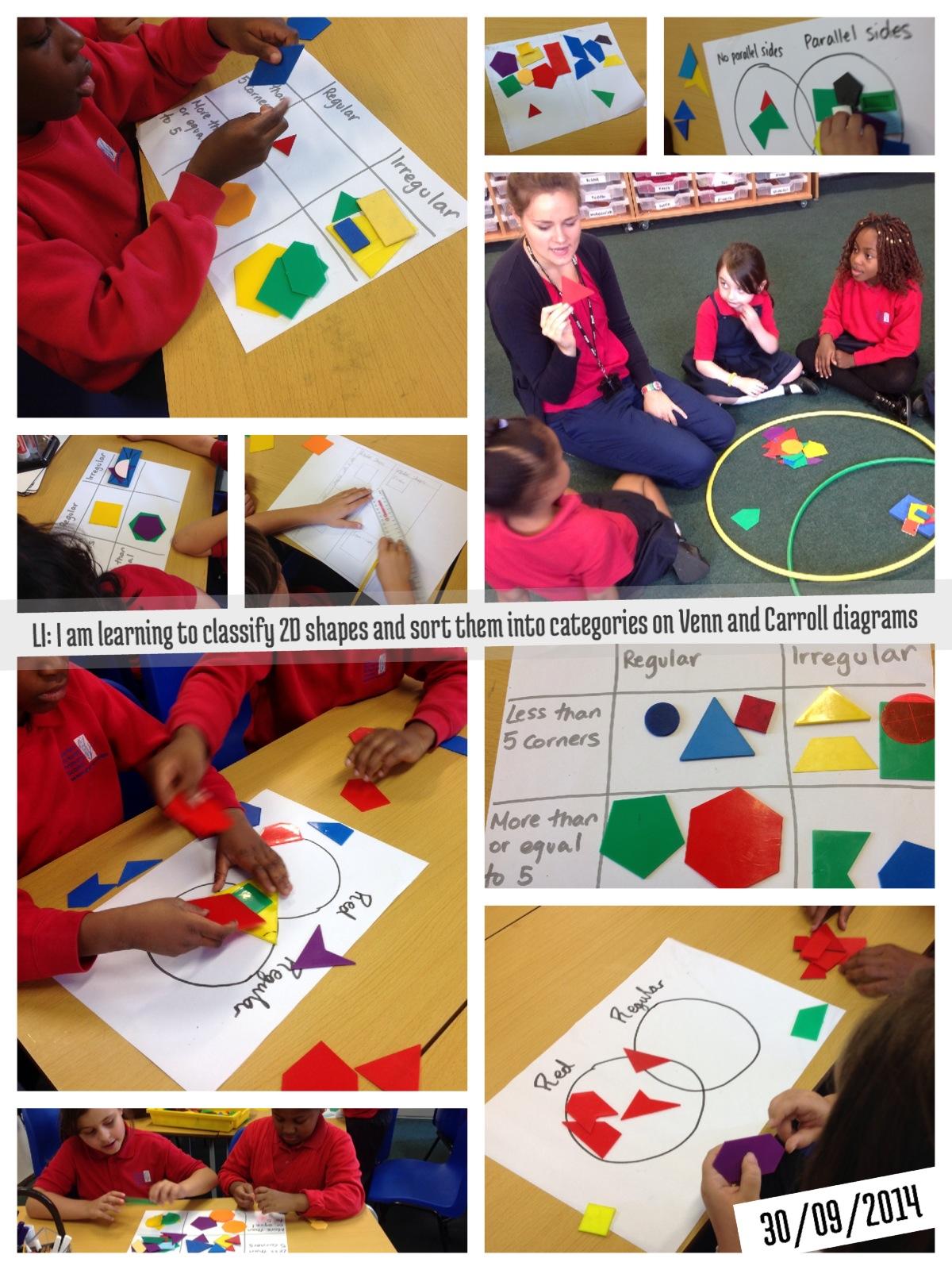 Maths Venn And Carroll Diagrams Copperfield Class
