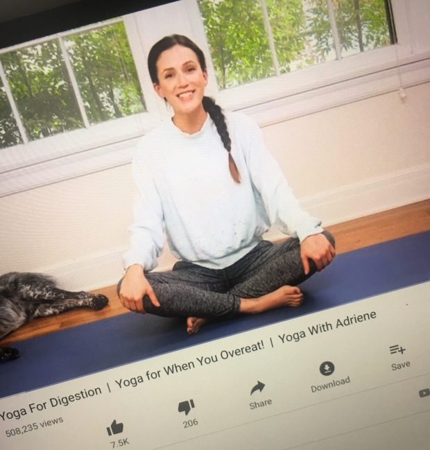 Exercise - Yoga With Adriene (YouTube)