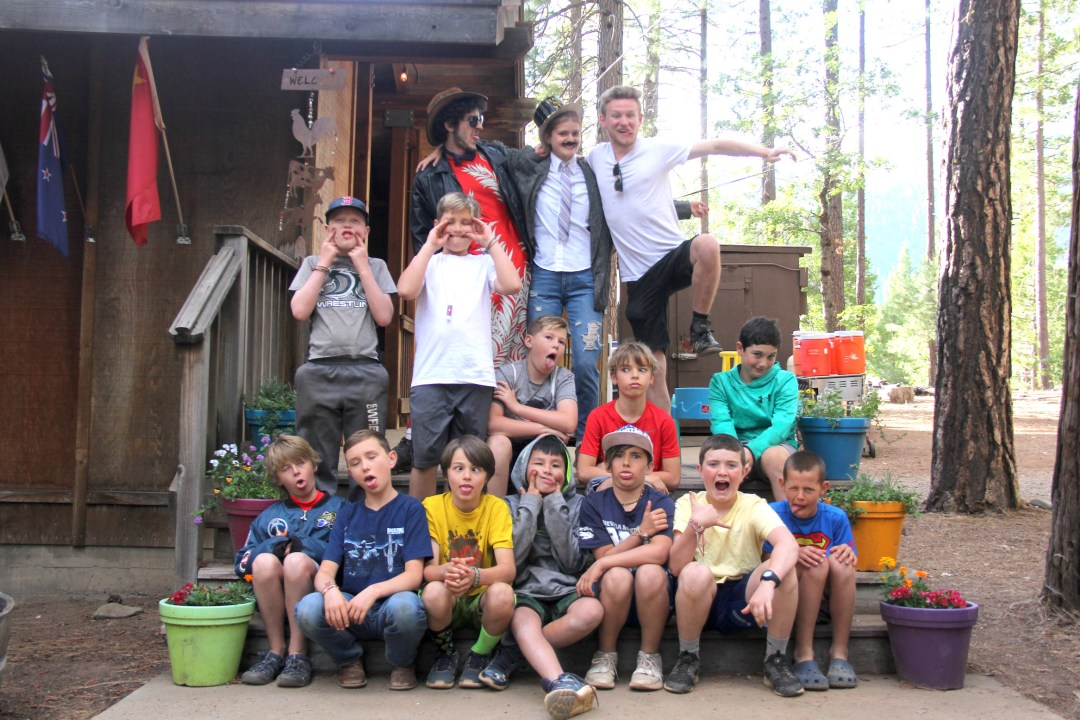 Cabin Group Photo