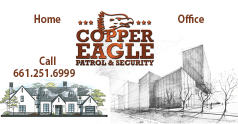 Copper Eagle Security Patrol Here for You – Home or Office