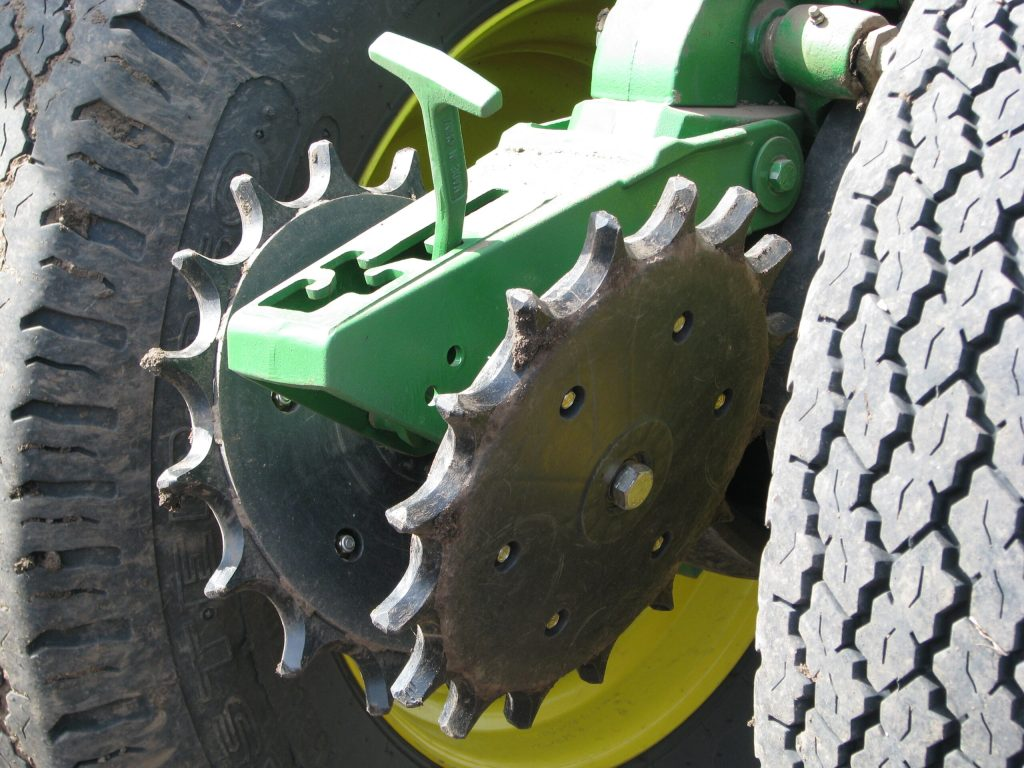 copperhead furrow cruiser installed on planter