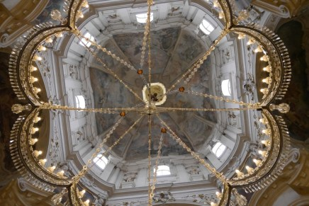 Ceiling of the Saint Nicolas Church