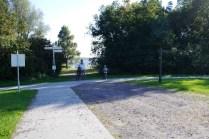Biking back to the van