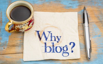 """Blog! Why Should I?"" A Blog Adds 100%"