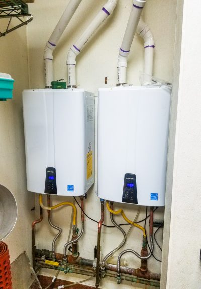 Gallery: Two Tankless Water heater Installation