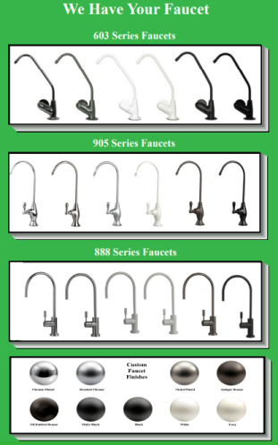 Ro Faucets & Colors