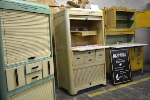 Non-Coppes Hoosier Cabinets