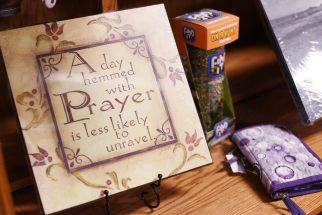 Countryside Showcase Burkholder Prayer Decor