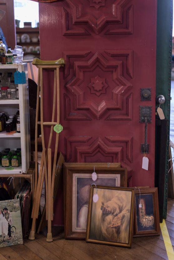 Dutch Lady Antiques Vintage Door and Framed Artwork