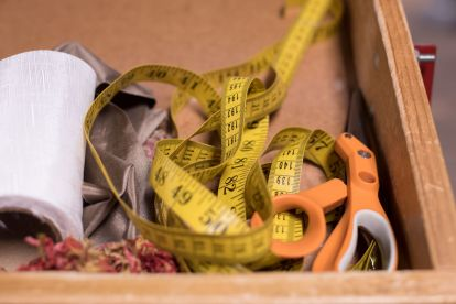 Lera's Rugs Scissors and Measuring Tape
