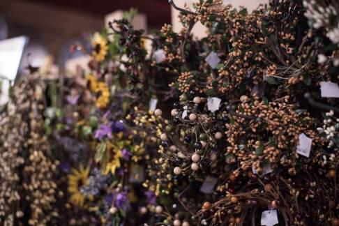Light of Grace Bookstore Floral Centerpiece