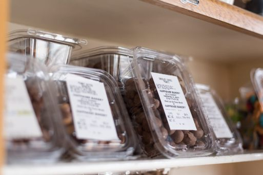 Nappanee Bakery Chocolate Covered Peanuts