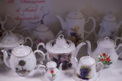 Teapot and More Chinaware