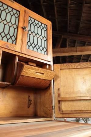 Restored Coppes Napanee hardwood Cabinet
