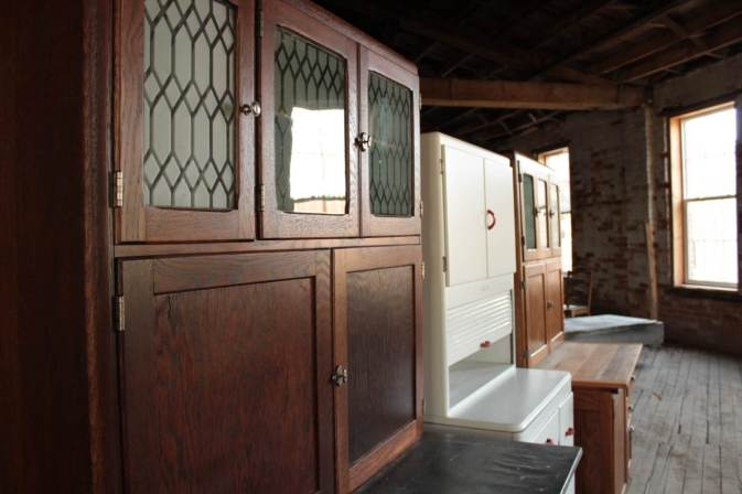 Restored Coppes Napanee Kitchen Cabinets