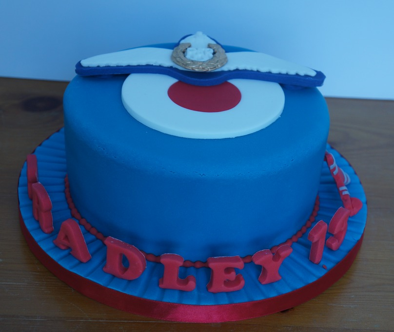 Raf Birthday Cake Coppice Cakes Amp Sugarcraft