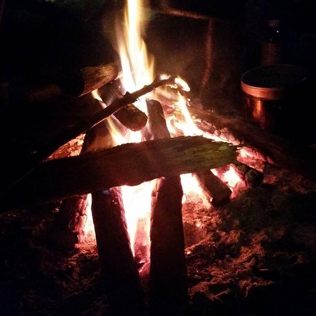 キャンプに行ってきました! 初めての氷点下 焚火の暖かさを感じてきました。