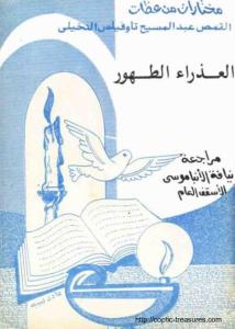 غلاف العذراء الطهور - القمص عبد المسيح تاوفيلس النخيلي.jpg
