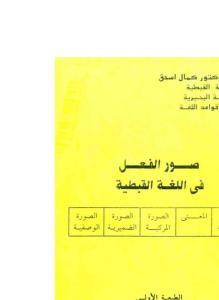 غلاف صور الفعل في اللغة القبطية - الدكتور كمال فريد.jpg