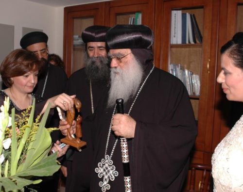 H.G. Metropolitan Bakhomious Thanks Coptic Orphans for…