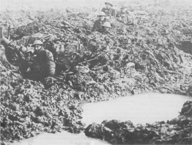 Wwi Images Of Poelcapelle And The Passchendaele Battle