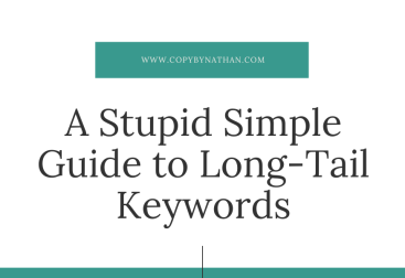 A stupid simple guide to long-tail keywords blog banner