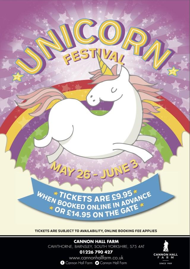 Unicorn festival poster